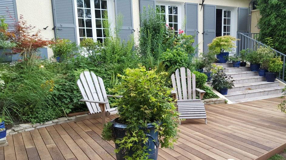 Aménagement de jardin par Touraine Nature