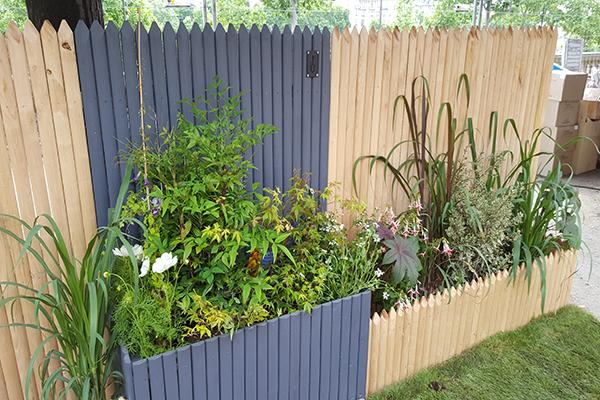 Treillage décoratif pour jardin